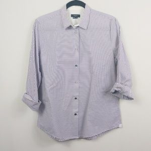 Paul Smith Striped Long Sleeve Button Down Shirt